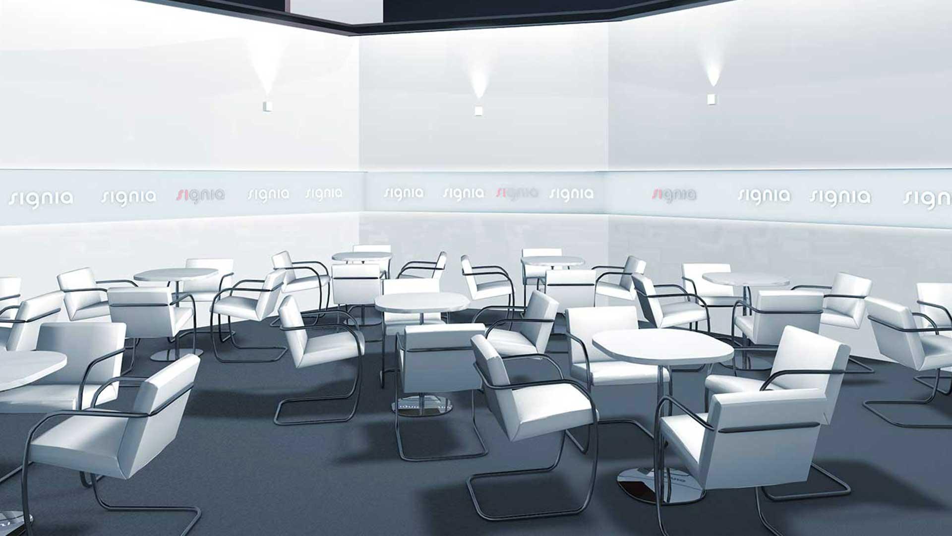 3D Visualisierung – Meetingraum