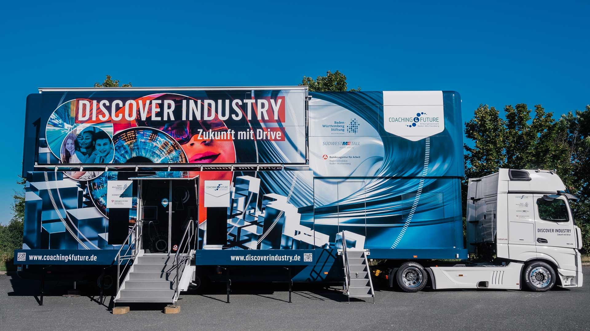 Discover Industry – Roadshow zum Thema Industry 4.0